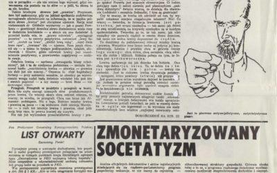 U progu wolności (Janusz Korwin-Mikke)